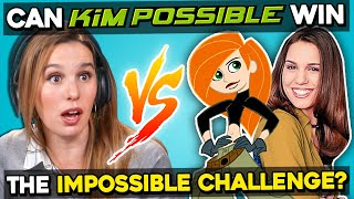 The Voice Of Kim Possible Tries The Impossible Challenge (ft. Christy Carlson Romano)