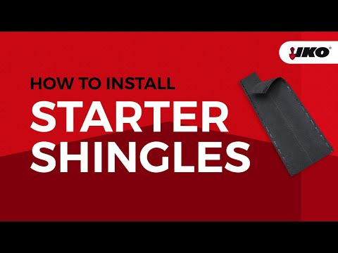 Getting the Right Start with Shingle Starter Strips
