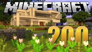 UM NOVO MUNDO! - Minecraft Em busca da casa automática #200.
