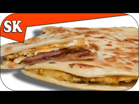 BREAKFAST QUESADILLA - With Bacon and Eggs