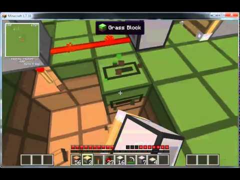 Tutorial: Piston Door in Minecraft 1.7.10