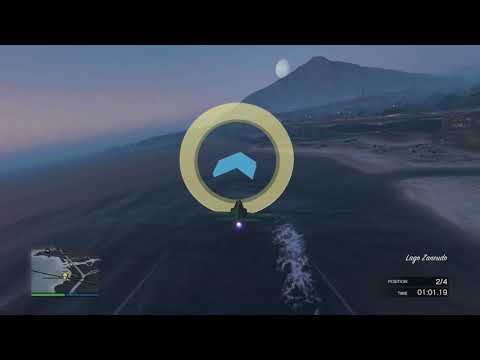GTA Online Air Race - The Fly By