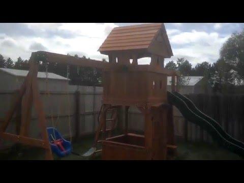 Sams Club Monterey Playground Swing Set Review