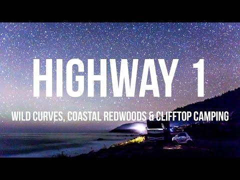 Highway 1 - Wild Roads, Coastal Redwoods & Clifftop Camping