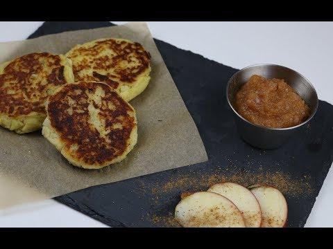 HOW TO MAKE AUTHENTIC GERMAN POTATO PANCAKES - Traditional Kartoffelpuffer Vegetarian Recipe
