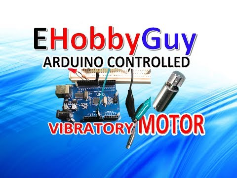 ARDUINO CONTROLLED VIBRATOR MOTOR AND TOOTHBRUSH TEARDOWN
