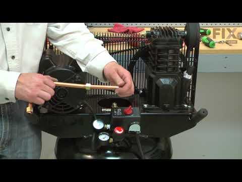 Campbell Hausfeld Air Compressor Repair - How to Replace the Ferrule