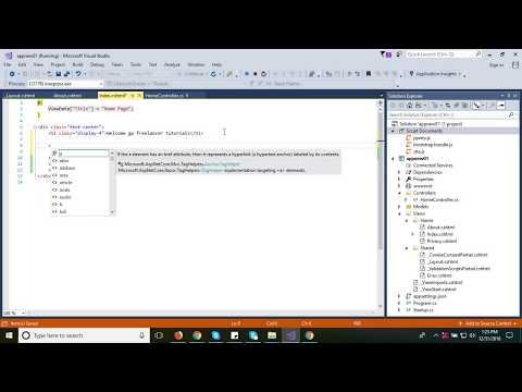 #1 Create a web app with ASP.NET Core MVC