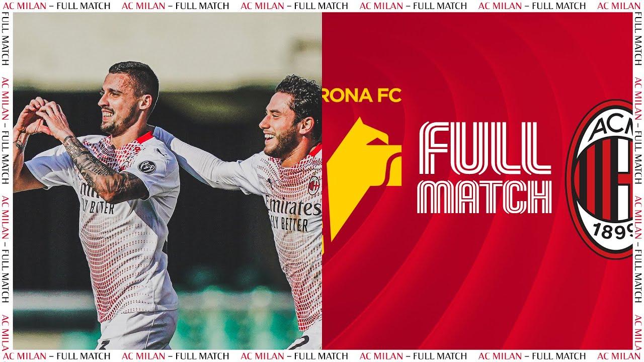 Full Match   Verona v AC Milan   Serie A TIM 2020/21