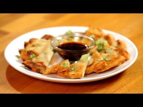 How to Make a Classic Scallion Pancake | Asian Cooking