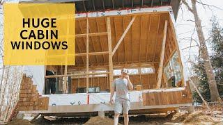 Fixing Cabin MEGA Wall (😭) - Cabin Build Ep.28