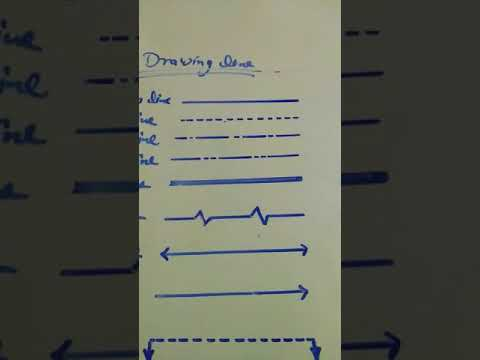 Read engineering drawing lines