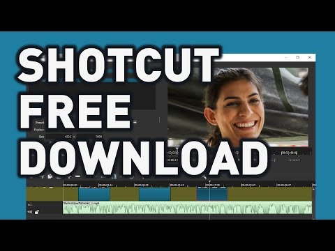 Download SHOTCUT Video Editor For FREE | How To Guide (Easy)