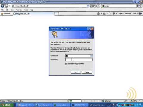 Wireless Router Setup - Access The Web Interface