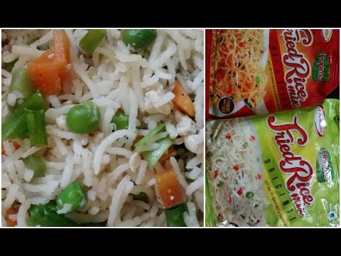 Hapima Fried Rice Mix Review/Restaurant style fried rice mix | Cooking with LA