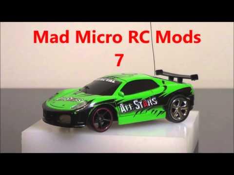 Hot wheels Coke Can Car Hybrid / Mad Micro RC Mods 7