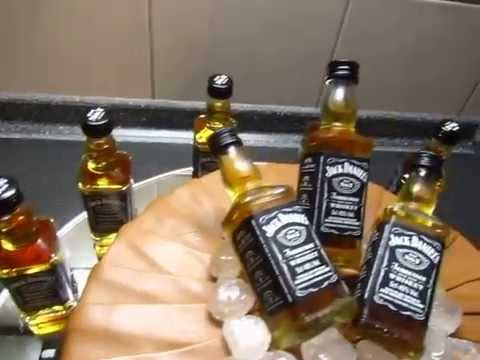 Jack Daniels Fondant Torte Geburtstags-Torte
