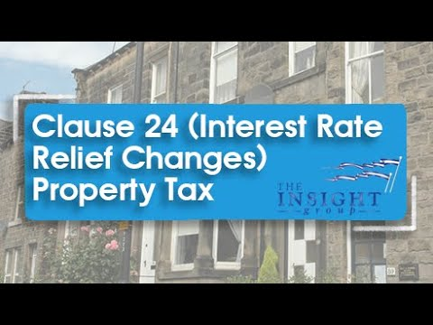 Clause 24 (Interest rate Relief Changes) Property Tax