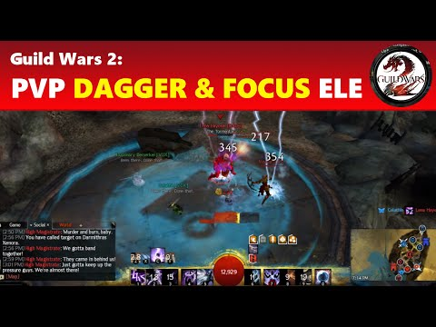 Guild Wars 2: Dagger/Focus Elementalist PVP Build & Guide 2016 OUTDATED (NEW VERSION AVAILABLE)