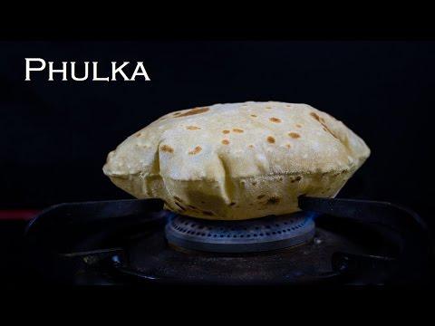 Phulka | Soft Chapathi | Puffed Phulka | How to make soft and puffed Roti/Chapati/Phulka