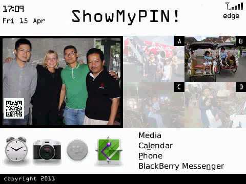 ShowmyPIN BlackBerry Themes
