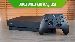 Microsoft Xbox One X Scorpio Edition Kutu Açılışı
