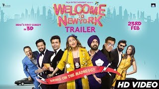 Welcome To New York Trailer | Sonakshi Sinha | Diljit Dosanjh | Karan Johar | 23rd Feb