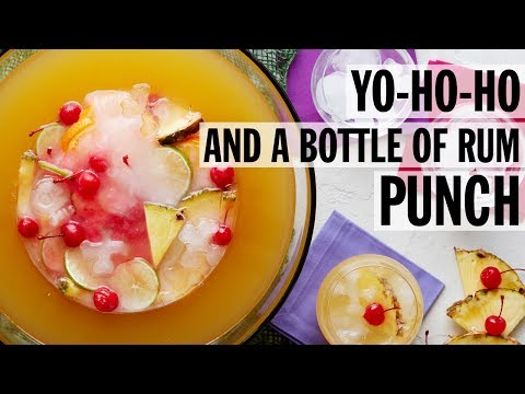 Yo-Ho-Ho and a Bottle of Rum Punch | Food Network