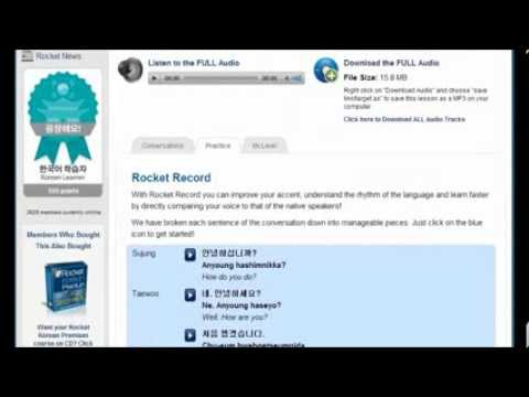 Learn Korean Online - How To Learn Korean Online Free And Fast By Rocket Korean