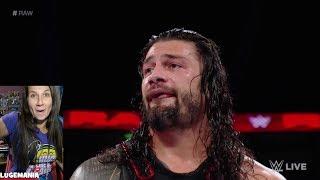 WWE Raw 9/11/17 John Cena to Roman - You Aint Getting Passed me