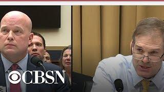 Download Rep. Jim Jordan questions Matthew Whitaker Video