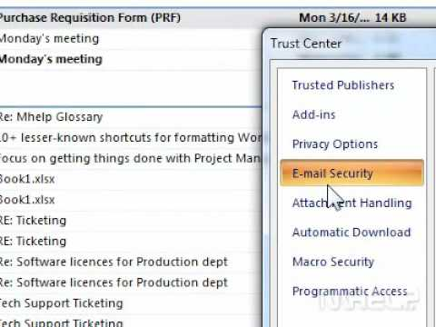 How to encrypt all email messages in Outlook