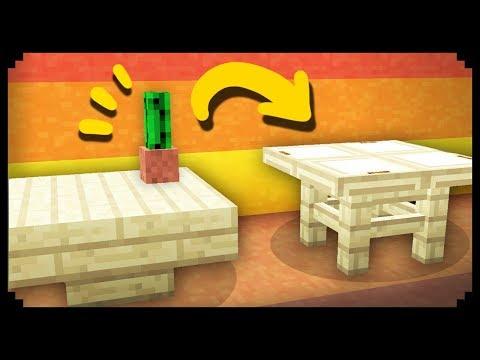 ✔ Minecraft: 50 Table Design Ideas