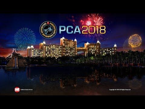 Mesa final del Evento Principal de la PCA (cartas descubiertas)