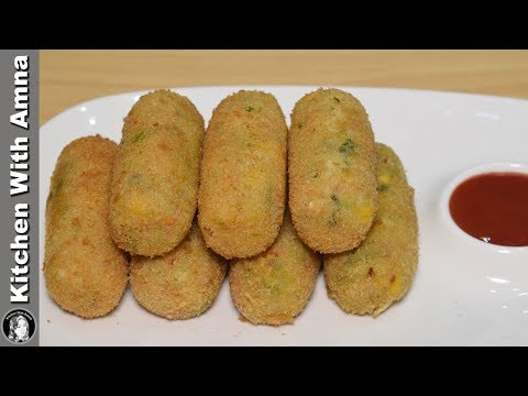 Vegetable Cutlets/Kabab Recipe - Special Ramadan Recipe - Kitchen With Amna