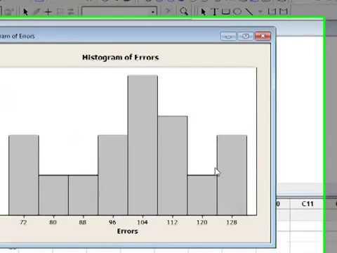 MINITAB Lesson 2 Charts and Graphs