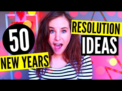 50 NEW YEARS RESOLUTION IDEAS: Organization, Health, Social Life