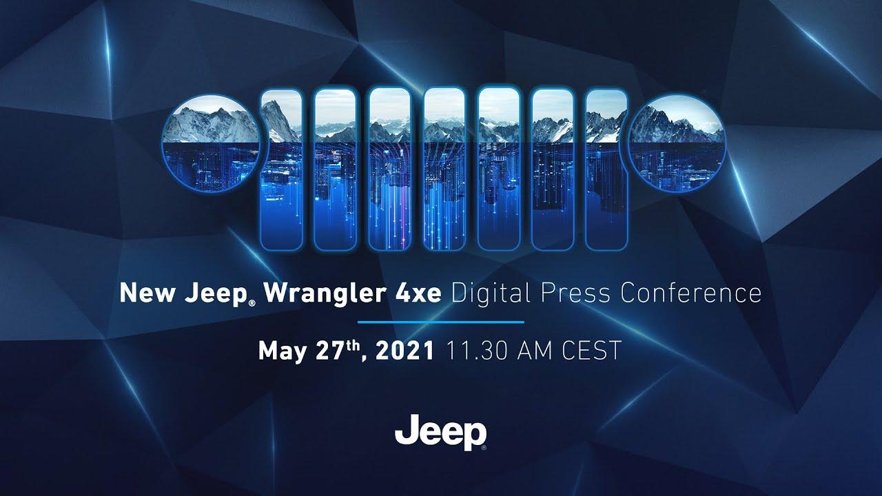 New Jeep® Wrangler 4xe Digital Press Conference
