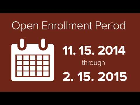 Know when your enrollment period starts and ends