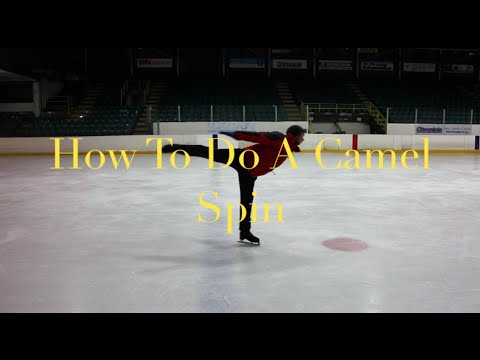 HOW TO DO A CAMEL SPIN | FIGURE SKATING ❄️❄️