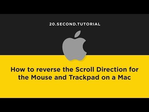 Reverse Scrolling Direction on a Mac | Mac Computer Tutorial #11