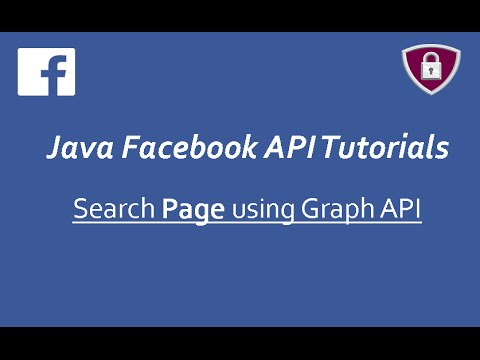 Facebook API Tutorials in Java # 15 | Search Page using Graph API