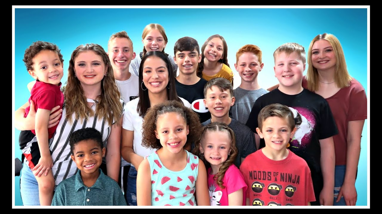 Meet Our Family of 23!  |  Which Kids are Siblings?  |  Adopting Sibling Groups!
