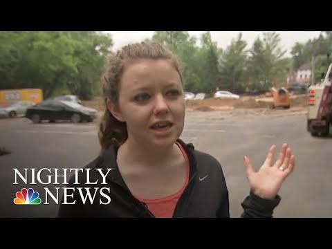 National Guardsman Missing After Flash Floods Ravage Ellicott City, Maryland | NBC Nightly News
