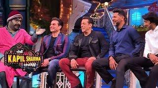Salman Khan, Kiccha Sudeep and Dabangg 3 Team Backstage Funny Moments | The Kapil Sharma Show