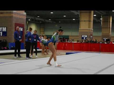 Olivia Mile,2023|| Starstruck invitational competition|| January 13-14,2018
