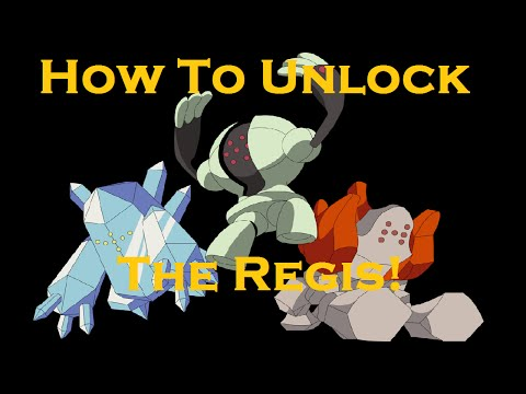 Pokemon Omega Ruby/ Alpha Sapphire - How To Unlock the Regis + Where To Find Them!