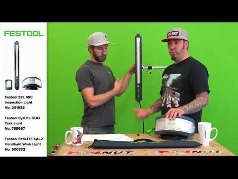 Festool SysLite STL 450 Inspection Light | The Tool Nut