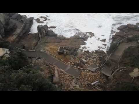 After the storm: rescue efforts at Bondi Beach, Australia
