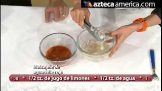 Camarones En Aguachile Rojo Receta